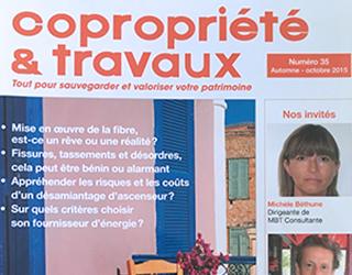 Copropriété et travaux magazine